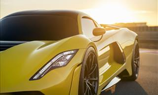The Insanely Fast Hennessy Venom F5 Breaks Cover