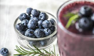 The Healthful Effects of Adding Blueberries to Your Diet