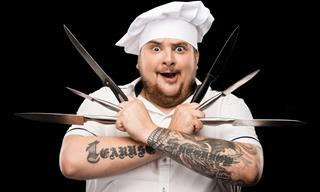 Joke: The Knife Juggler