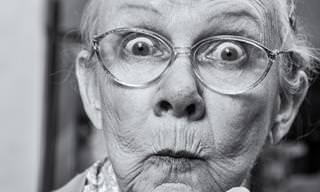 An Old Lady Ponders the Deeper Life Questions...