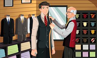 A Young Banker Goes to the Tailor