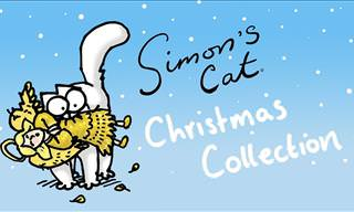 WATCH: Simon's Cat Christmas Compilation