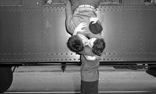 These Historic Photos Illustrate Love Among War Couples
