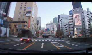 Take a drive around Tokyo right now!