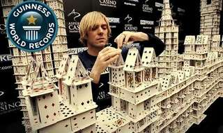 This Man Has Taken Stacking to New Heights!