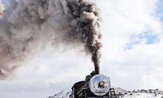 Discover the Beauty of  Powerful Steam Trains.