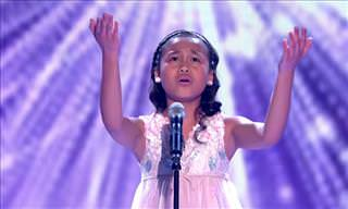 Watch This Young Girl Sing 'I Have Nothing'