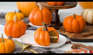 Make These Adorable Pumpkin Cakes This Fall!
