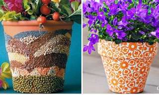 Make Your Flower Pots More Eye-Catching