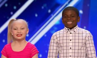Young Dancers on America's Got Talent