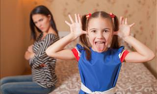 Little Miss Intrusive Asks Mom Too Many Questions