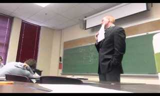 This Teacher Had No Idea What's Happening...