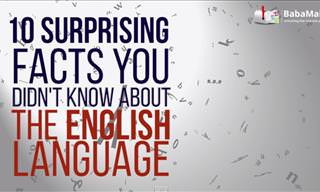 10 Interesting Facts About the English Language