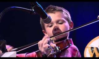 This 10 Year Old is a Terrific Fiddler