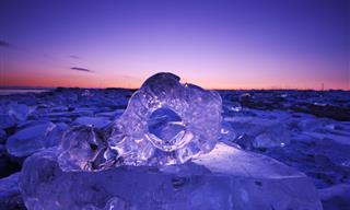 Ice Jewels Can be Found Only in Hokkaido, Japan