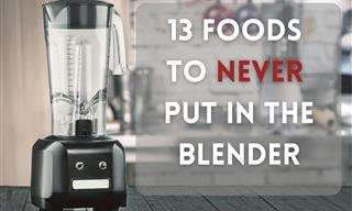 13 Foods You Should Never Put In the Blender