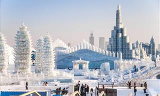 A City of Ice: Harbin Ice Sculpture Festival on Camera