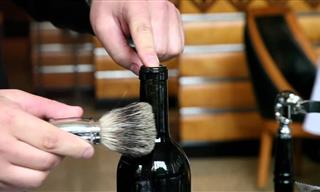 An Ancient Way to Open a Bottle of Wine