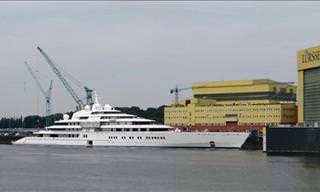 The Largest Ships and Yachts to Sail the Seas