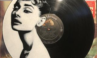 Famous Artists Painted on their Own Vinyl Records