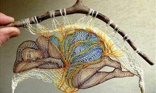 Fantastic Lace Artwork by Agnes Herczeg