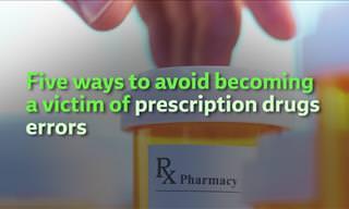 5 Ways to Avoid Prescription Drug Errors