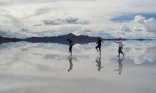 Earth's Biggest Mirror - Beautiful!