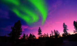 The Spectacular Northern Lights Are God's Fingertips