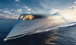 Tour the Interiors of This Yacht That's Made of Dreams