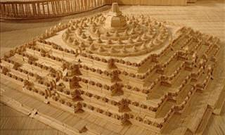 Incredible Toothpick Art by Stan Munro