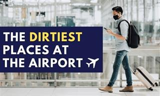 7 of the Dirtiest Places at the Airport and Plane