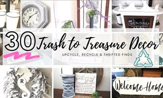 These Upcycle DIY Home Decor Tips Are Super Cheap & Useful