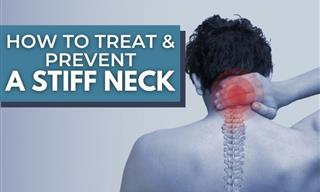 Woke Up With a Stiff Neck? Here's How to Treat and Prevent It