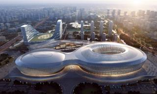 Engineering Marvels: China's New Sporting Super-Complex
