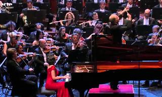 Khatia Buniatishvili Plays Piano Concerto No. 2 By Rachmaninov