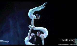 Talented Acrobats Give an Outstanding Show