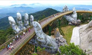 This Bridge in Vietnam is Breathtaking!