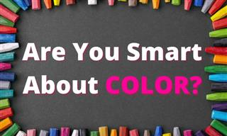 Test: How Smart Are You About COLOR?