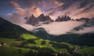 View the Italian Dolomites in Crisp 4K