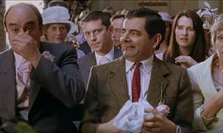 Mr. Bean at a Wedding = Comic Disaster!