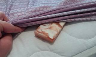 Put a Bar of Soap Under a Bed Sheet to Reduce Leg Pain