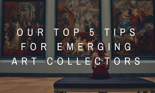 Our Top 5 Tips for Emerging Art Collectors