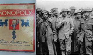 How Monopoly Helped WWII Prisoners Escape...