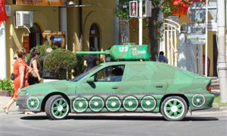 Only in Russia: 10 Hilarious Cars Transformed into Tanks