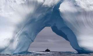 The Frozen Beauty of Icebergs