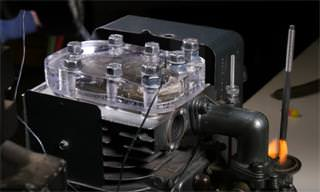 See An Internal Combustion Engine In Action