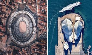 Admire UNESCO World Heritage Sites From a Bird's Eye View