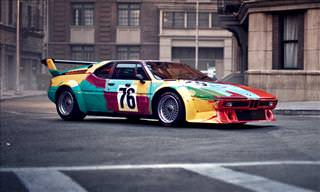 17 of BMW's Amazing Art Cars