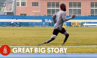 Watch The Inspiring Tale of Paralympic runner Blake Leeper