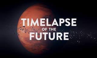 A Timelapse of the Future: Fast Forwarding the Earth